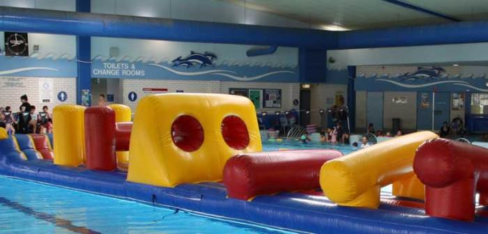 Pool Inflatable Days Eagle Vale Central Campbelltown City Council