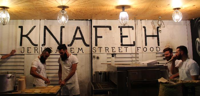 Knafeh Bakery - bearded bakers