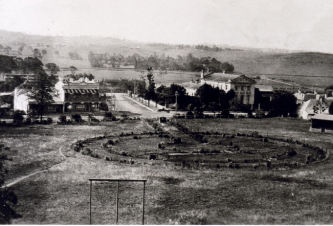 An early photograph of Mawson Park