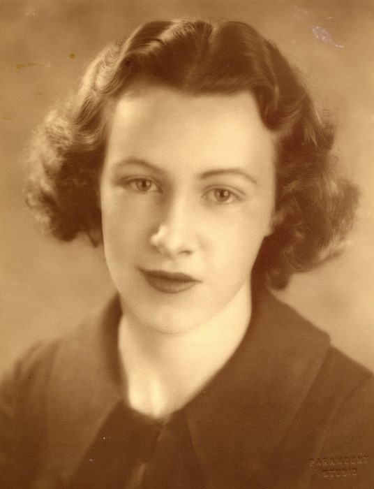 A portrait of Lily Triglone as a young woman