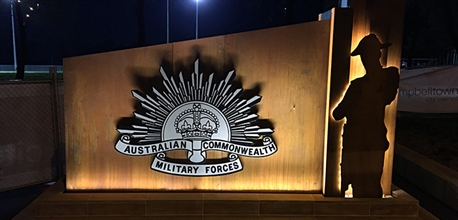 Anzac Memorial at Milton Park