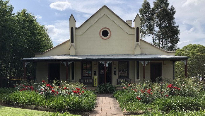 Historic Quondong Cottage, home of the Campbelltown Visitor Information Centre