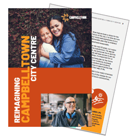 Reimagining Campbelltown City Centre Booklet Cover