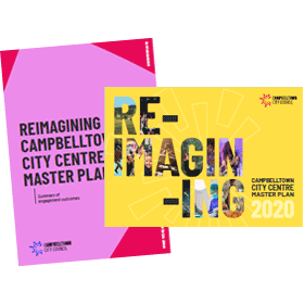 Reimagining Campbelltown City Centre Master Plan Covers