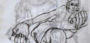 Life Drawing artwork by Corrigan Fairbairn