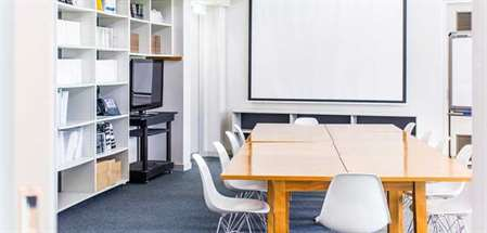 Venue Hire example of Library Boardroom