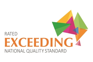 Exceeding Rating Logo