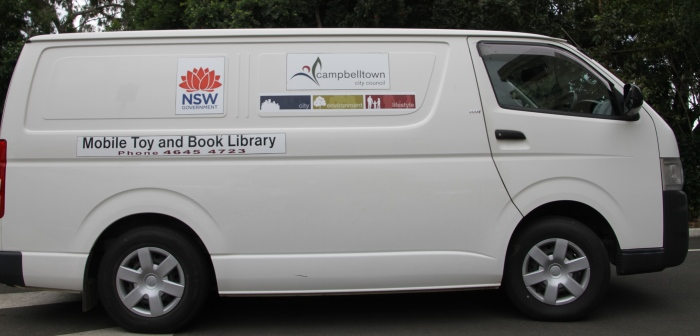 Mobile Toy and Book Library Bus