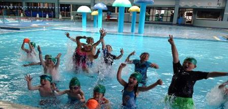 School Holiday Care children at Eagle Vale Pool