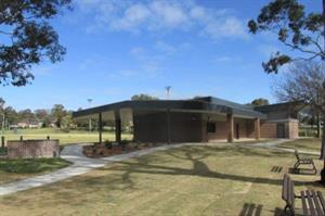 Bradbury Oval amenities block