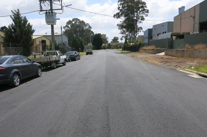 Road condition after treatment