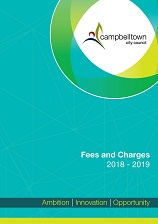 2018-2019 Fees and Charges adopted