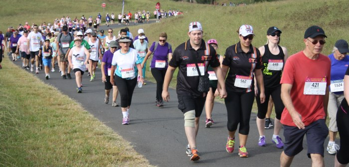 Walkers from the 2015 Campbelltown City Challenge Walk
