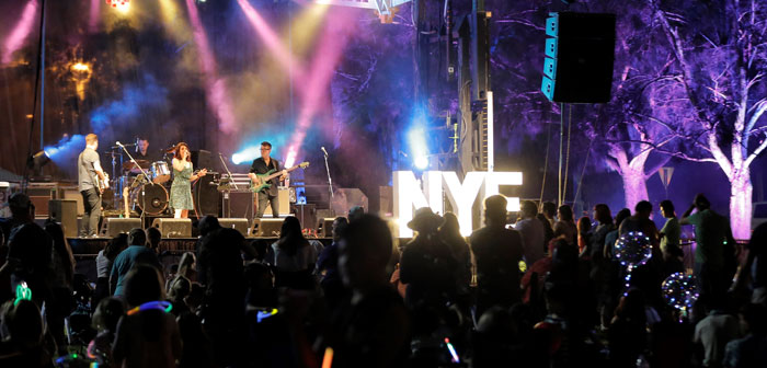 New Years Eve live band performing