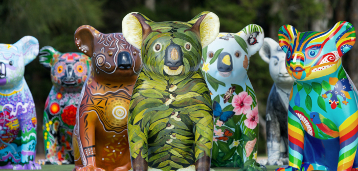Hello Koalas Sculpture Trail comes to Campbelltown
