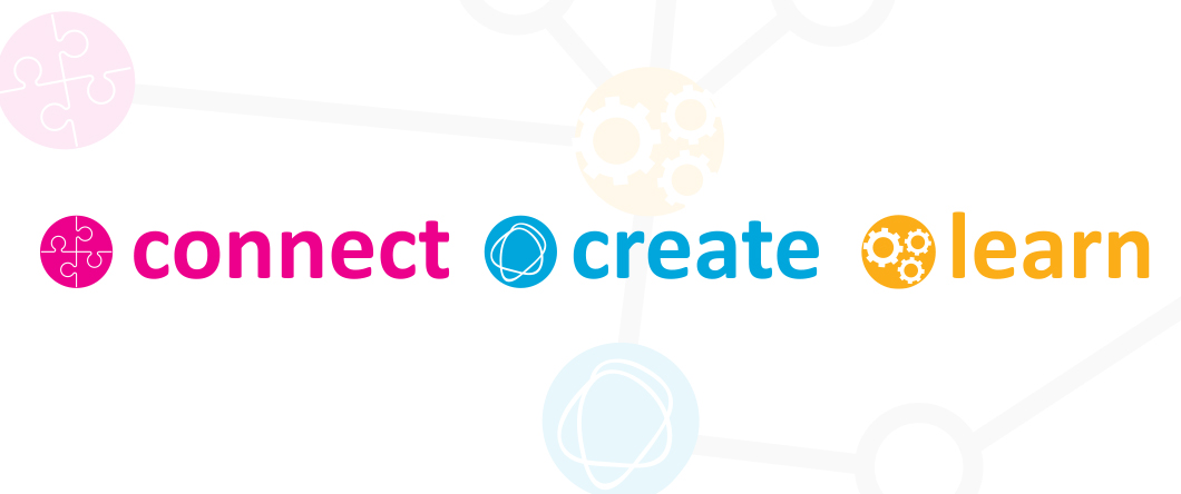 Connect Create Learn logo