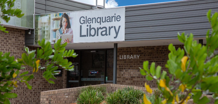 Glenquarie Library Exterior